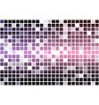 purple blue pink occasional opacity mosaic over vector image vector image