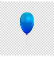 realistic air gel balloon vector image vector image