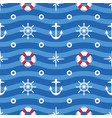 seamless sea pattern wavy background symbolizing vector image