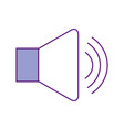 speaker audio isolated icon vector image