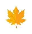 Autumn Leaves icon in flat style vector image