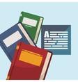 Books design vector image vector image