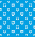 coat of arms of germany pattern seamless blue vector image vector image