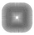 Halftone Symbol vector image vector image