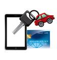 Vehicular trade vector image