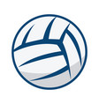 volleyball ball design vector image vector image