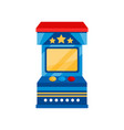 arcade game vending machine on vector image vector image
