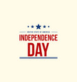 Celebration of independence day background vector image