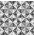 Design seamless monochrome triangular pattern vector image vector image