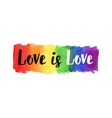 Love is love vector image vector image