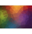 Modern Abstract polygonal background vector image vector image