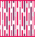 pink and burgundy rounded stripes with colored vector image vector image