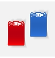 realistic design element flasher vector image vector image