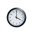 wall clock set at 4 o clock vector image vector image