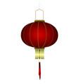 isolated chinese lantern vector image