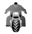 A healthy man on bike vector image vector image