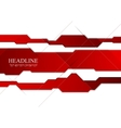 Abstract tech corporate design vector image vector image