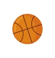 Basketball icon in flat style vector image