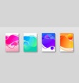 bright color abstract vector image