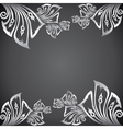 classic design border background vector image vector image