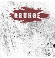 grunge texture distress black template vector image vector image