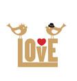 love card love card vector image vector image