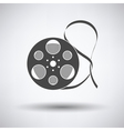 Movie reel icon vector image vector image