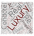 Philippine Condo Hotels text background wordcloud vector image vector image