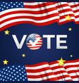 usa election company poster vector image
