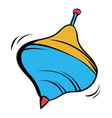 whirligig icon cartoon vector image