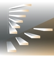 with stairs vector image