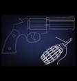 3d model of a pistol
