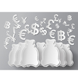 concept money vector image
