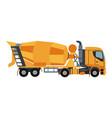 excavator logo vector image