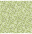 foliage seamless pattern background with leaves vector image