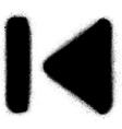 go to start media graffiti spray icon in black vector image