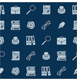 Notary tools vector image