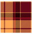 Reddish Tartan Cloth Pattern