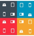 Set of icon for Infographic template design vector image vector image