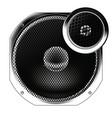 speaker from radio vector image
