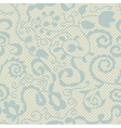 Spring lacy seamless floral pattern vector image vector image