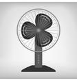 electric fan vector image