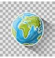 Doodle globe vector image
