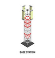 base station antenna and signal transmission vector image