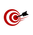 business target vector image