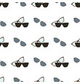 glasses and spectacles pattern vector image vector image
