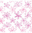 seamless floral pattern with polka dot ornament vector image vector image