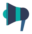 single megaphone icon vector image vector image