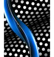 abstract black and blue background vector image vector image