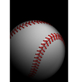 High detailed baseball vector image vector image